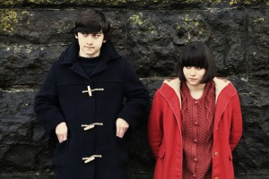 Craig Roberts as Oliver Tate and Yasmin Paige as Jordana in SUBMARINE