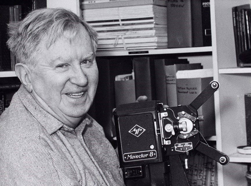 MS 50,000/149/2 Photograph of Liam O'Leary from the Irish Film Society materials in the Liam O'Leary Archive.