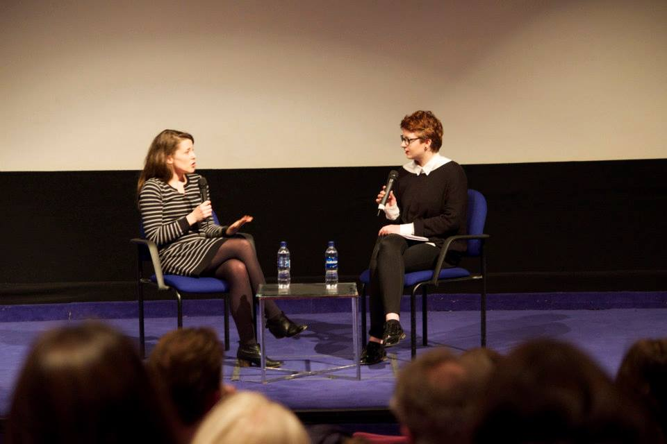 - Clare Dix and Eibh Collins at London Irish Film Festival