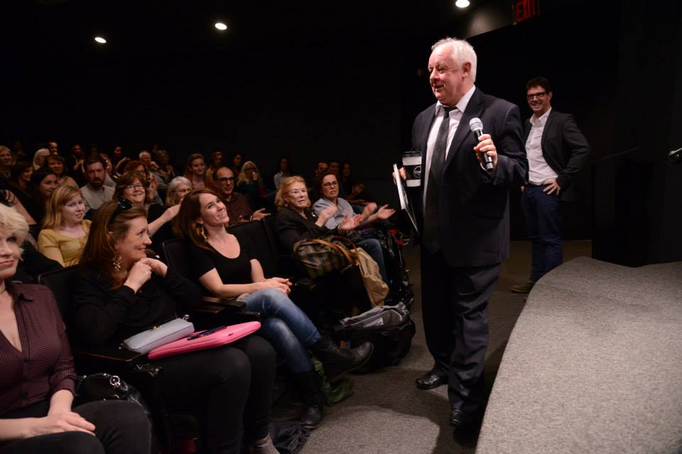 -Jim Sheridan and Niall McKay at New York Irish Film Festival
